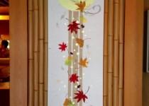 和紙パネル~秋~